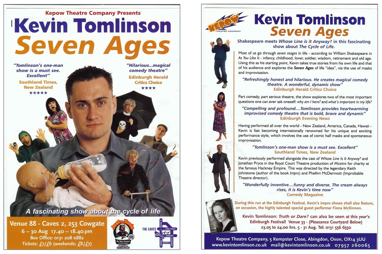 7 Ages flyer