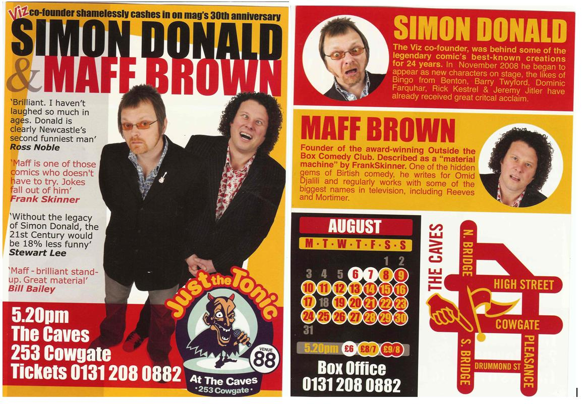 Donald & Brown flyer