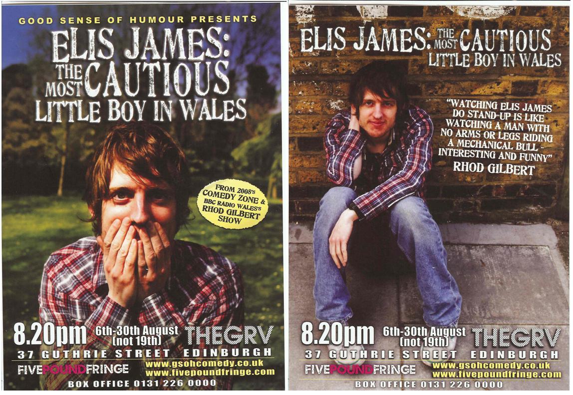 Elis James flyer